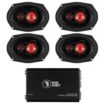 BassHabit Speaker Pack