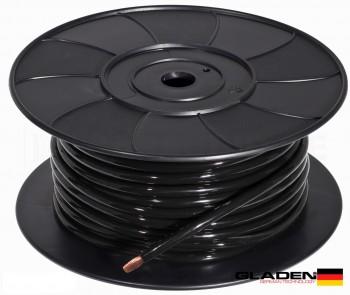 Gladen 10mm² 100% Cuivre Noir