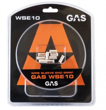 GAS 10 embouts 6.0mm